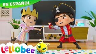 NUEVA CANCIÓN | Disfraces | Princesas, Piratas y Aviones | Little Baby Bum en Español
