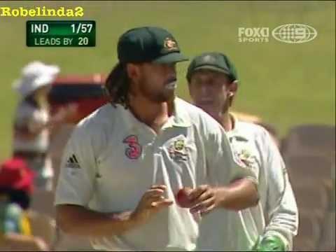 Download Tendulkar & Symonds, sour incident, unsporting cricket towards Sachin Tendulkar