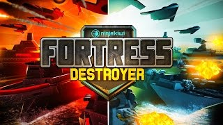 NEW NINJA KIWI [BTD BATTLES Creator] Mobile Game! FORTRESS DESTROYER!`