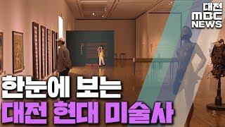 격동의 7080, 대전 미술 '한눈에'/대전MBC