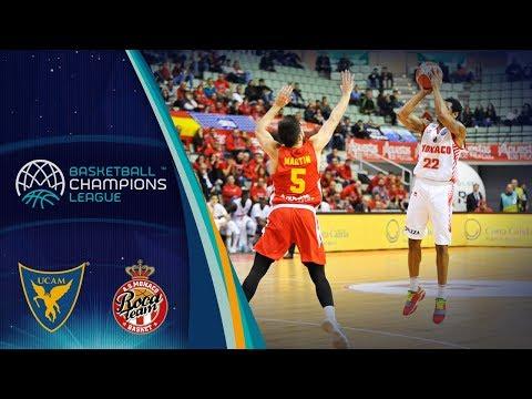 UCAM Murcia v AS Monaco - Full Game - Basketball Champions League