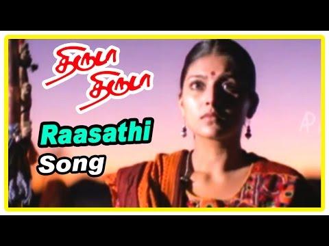 Thiruda Thiruda movie scenes | Heera refuse to marry Prashanth and leaves | Raasathi song | Anand