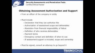 75 Ethical Hacking - Creating a Security Assessment Plan