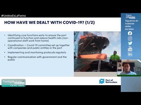 #Webinar - La experiencia del puerto de Rotterdam durante la crisis Covid