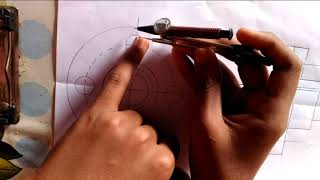 How to draw flange copling assembly drawing part 3