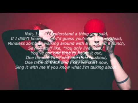 heavydirtysoul - twenty one pilots (lyrics)