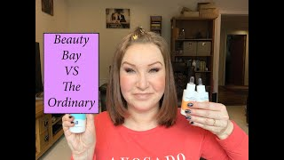Beauty Bay Skincare Range - Haul/Review/Comparison with The Ordinary Skincare (Cruelty Free/Vegan!)