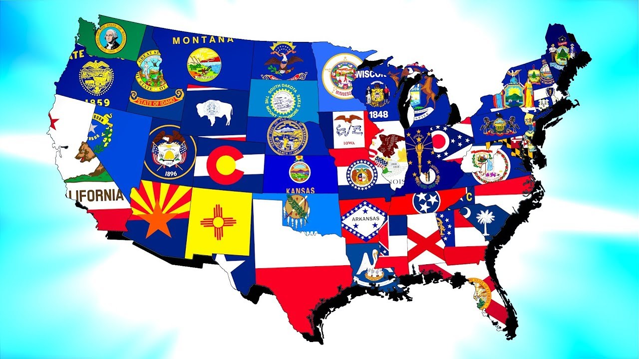 What If Every US State Became a Country Hearts of Iron