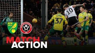 Norwich 2-2 Blades - match action