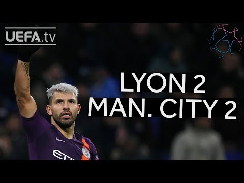 LYON 2-2 MAN. CITY #UCL HIGHLIGHTS