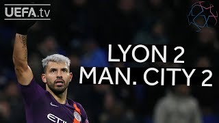 LYON 2-2 MAN. CITY #UCL HIGHLIGHTS