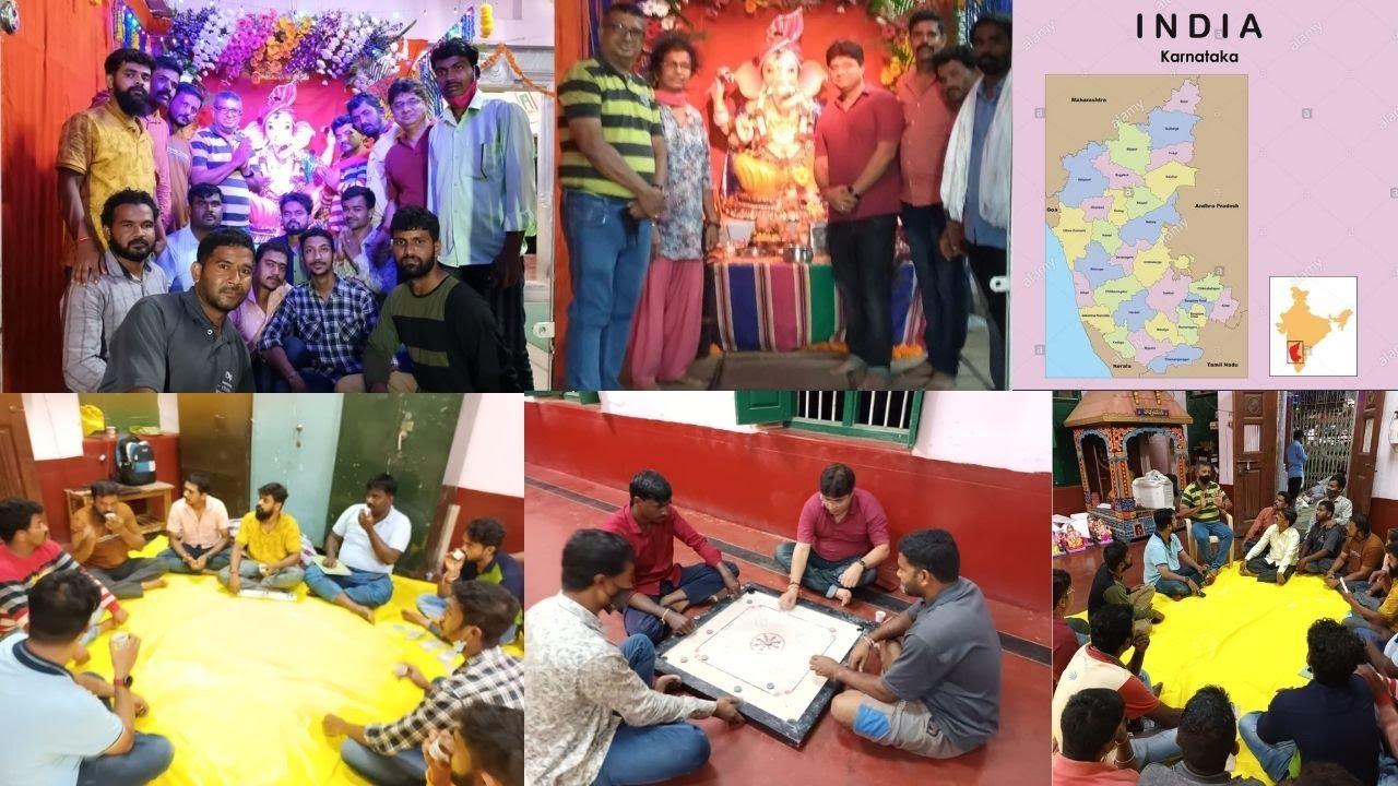 Ganesh festival by Davangere Distrct Deaf Association in Karnataka