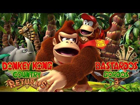 Reseña Donkey Kong Contry Returns | 3 Gordos Bastardos