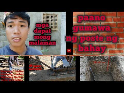BUHAY CONSTRUCTION/PAG GAWA NG POSTE ANILYO AT UGAT NG POSTE(DAY#3)