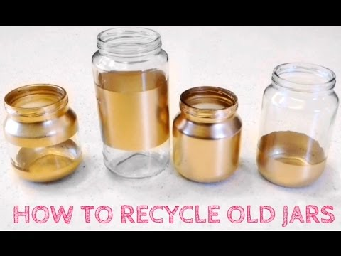 Recycling Glass Jars