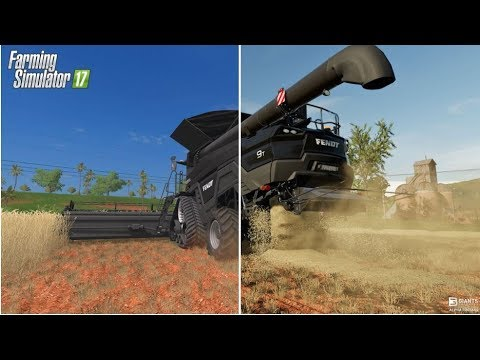 NEW FARMING SIMULATOR 2019 FEATURES | INSANE LOOKING GRAPHIC | FS17 VS FS19 | PC | PS4 | Xbox One