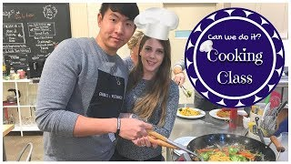AMWF Vlog | Cooking Class-Chinese Takeout Style | Sur La Table | AKA국제커플 처음으로 쿠킹 클래스를 가다! Video