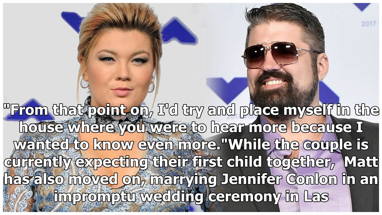 Amber Portwood and Ex Matt Baier Join Marriage Boot Camp ...