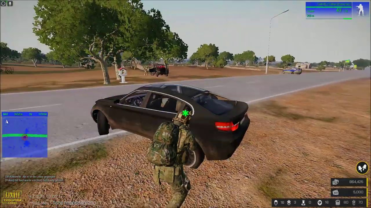Evolution Gaming Arma 3