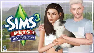 Let's Play: The Sims 3 Pets & Generations (Part 1) - LET'S DO THIS!
