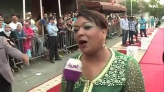 """تكريم الفنانة المغربية """"بشرى أهريش"""" في سينما المرأة"""
