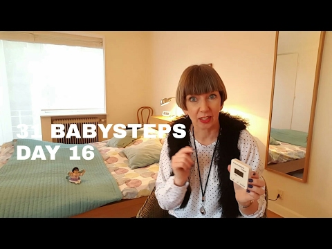 Flylady's 31 Babysteps Day 16 (learning the system, using the timer as a stopwatch)