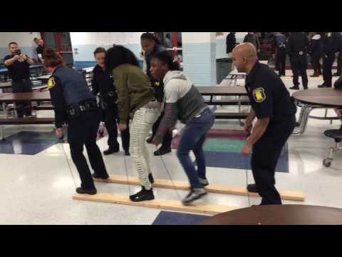 Yonkers PD Youth Police Initiative (YPI) Palisade Prep School 01-24-17