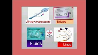 AIRWAY INSTRUMENTS, DRAINS,LINES,FLUIDS AND TUBES by NURSES EXAM AND NURSING SUPPORT NEWS