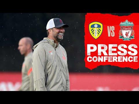 Jürgen Klopp's pre-match press conference    Leeds United