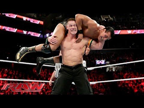 John Cena Vs. Alberto Del Rio – United States Championtitel Match: Raw – 28. Dezember 2015