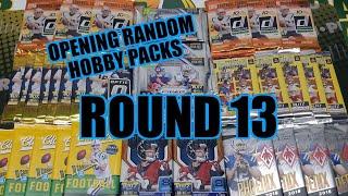 Random Football Card Hobby Pack Opening Round 13