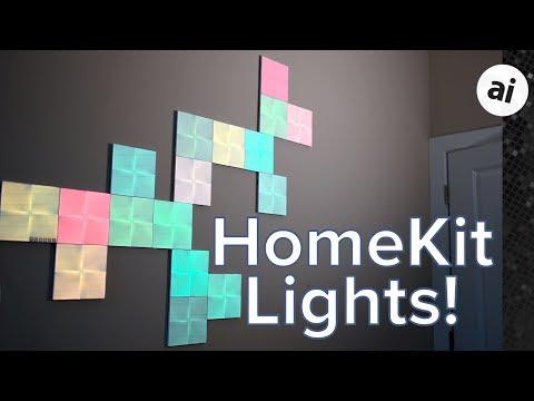 Review: Nanoleaf Canvas HomeKit Wall Lights Are A Stunning Design Piece