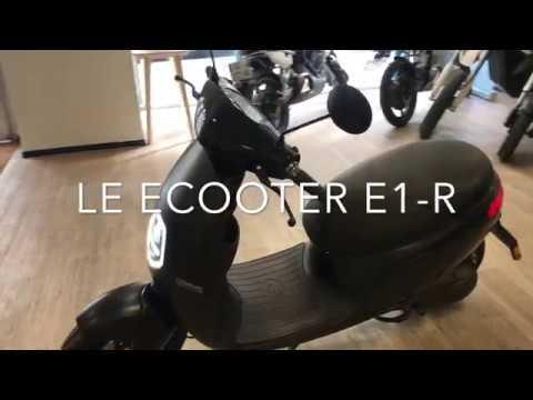 Scooter Electrique Orcal Ecooter E1 R Equivalent 125 120 Km D Autonomie