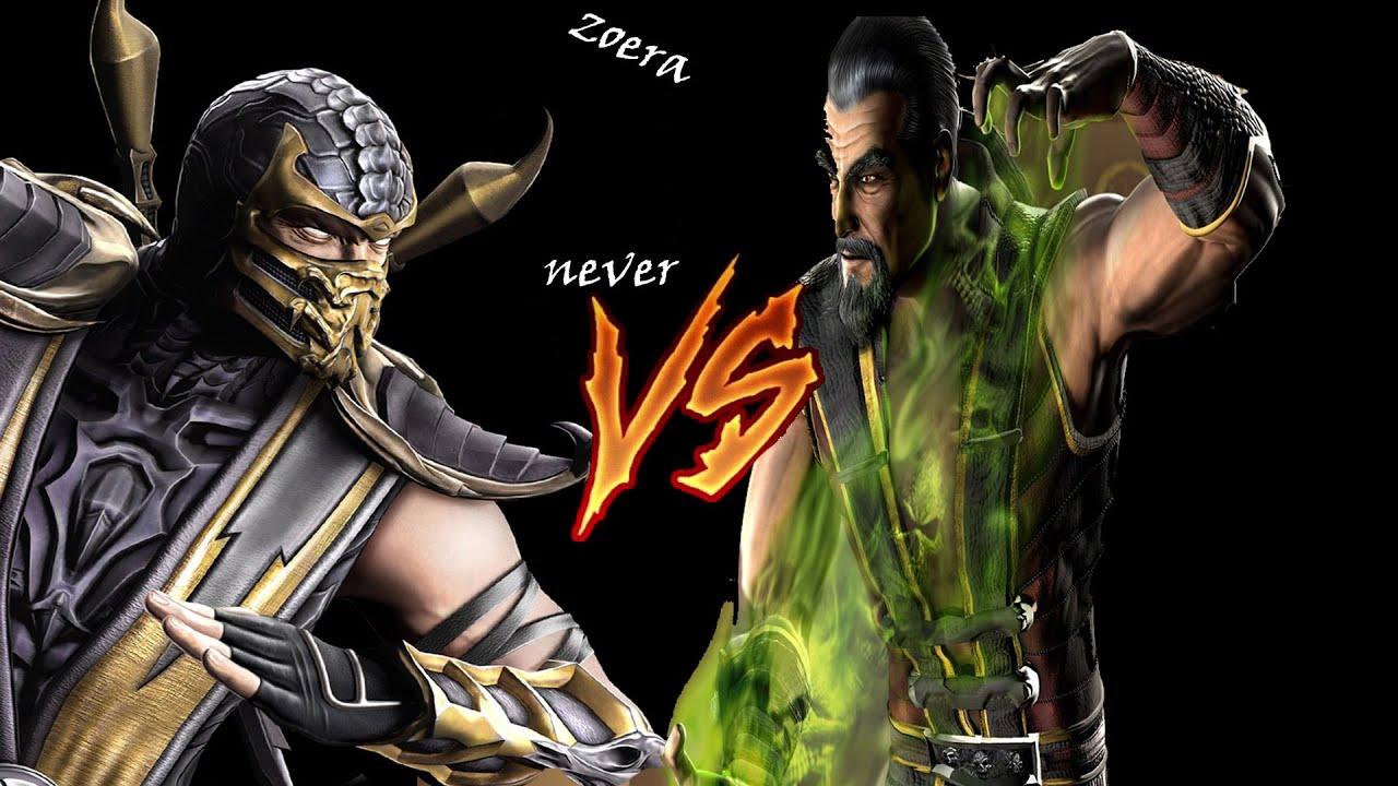 Mortal kombat shang tsung vs liu kang - photo#14