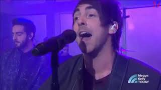 All Time Low - Good Times  (live on Megyn Kelly TODAY)