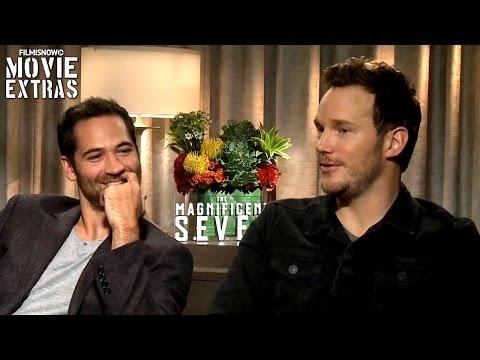 The Magnificent Seven (2016) - Chris Pratt & Manuel Garcia Rulfo talk about the movie