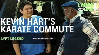 Kevin Hart's Karate Commute | Lyft Legend | LOL Network