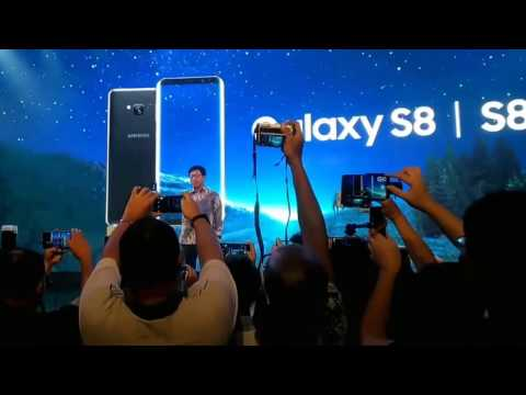 launching & hands-on samsung galaxy s8 & s8+ - jakarta, indonesia (full version)