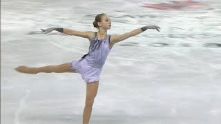 Фантастическое выступление Александры Трусовой на соревнованиях в Канаде покажет Первый канал
