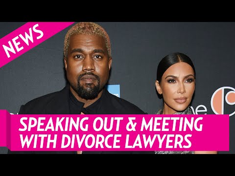 Kim Kardashian Addresses Kanye's Bipolar Disorder for the 1st Time as she Meets with Divorce La