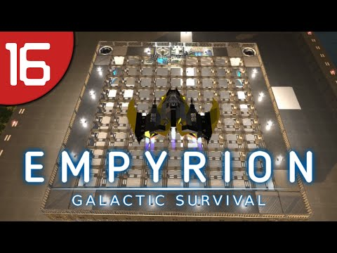 Empyrion #16 - Construction Vessel and Mining Fortress Start - Galactic Survival Let's Play