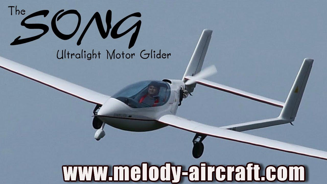 Song ultralight aircraft motor glider from melody aircraft for Electric ultralight aircraft motor