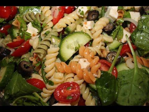 Рецепт Pasta Salad Паста салат Заправка для салата