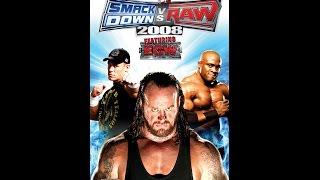 Smackdown VS RAW 2008 Jeff Hardy VS Matt Hardy ECW Extreme Rules Match