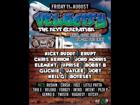 DJ Bobby B Mc Rockeye @ Velocity The Next Generation 11.8