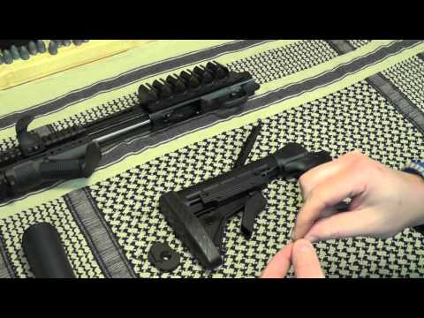 Mossberg 500 Project: ATI Talon Tactical Stock