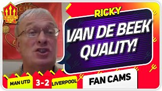 RICKY! CAVANI GREAT AGAIN! Manchester United 3-2 Liverpool Fan Cam