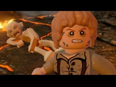 LEGO Lord of the Rings Walkthrough Part 18 - Mount Doom (Ending & Credits)