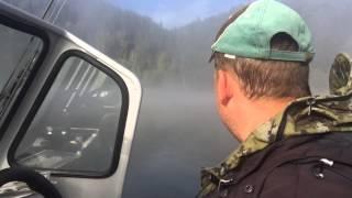Рыбалка на реке Томь, вход в нижнюю Терсь