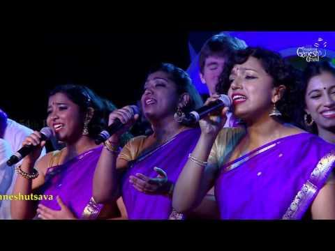 'Raasathi' By Berklee Indian ensemble - USA at the 54th Bengaluru Ganesh Utsava..!!